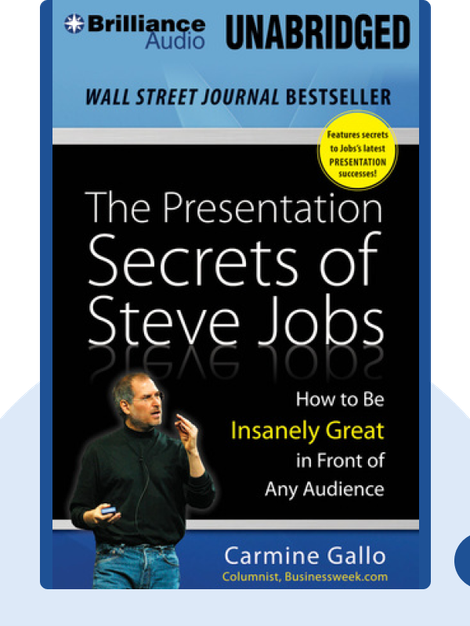 The Presentation Secrets of Steve Jobs von Carmine Gallo