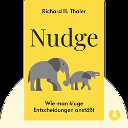 Nudge: Wie man kluge Entscheidungen anstößt  von Richard H. Thaler
