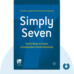 Simply Seven: Seven Ways to Create a Sustainable Internet Business by Erik Schlie, Jörg Rheinboldt & Niko Waesche