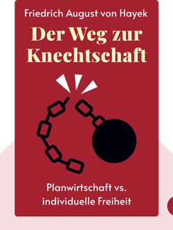 Der Weg zur Knechtschaft von Friedrich August von Hayek