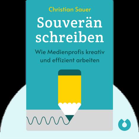Souverän schreiben von Christian Sauer