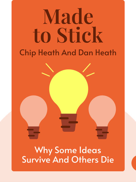 Made to Stick: Why Some Ideas Survive and Others Die by Chip Heath and Dan Heath