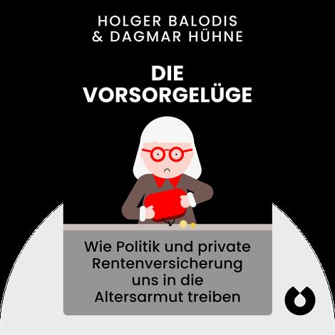 Die Vorsorgelüge by Holger Balodis & Dagmar Hühne