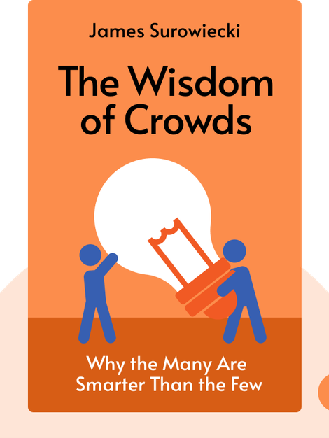 The Wisdom of Crowds: Why the Many Are Smarter Than the Few by James Surowiecki