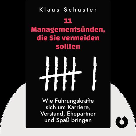 11 Managementsünden, die Sie vermeiden sollten by Klaus Schuster