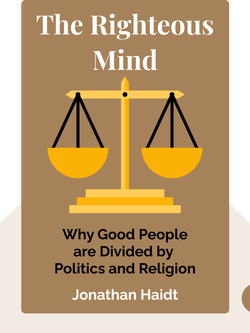 The Righteous Mind: Why Good People are Divided by Politics and Religion von Jonathan Haidt