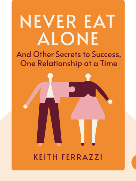Never Eat Alone: And Other Secrets to Success, One Relationship at a Time von Keith Ferrazzi