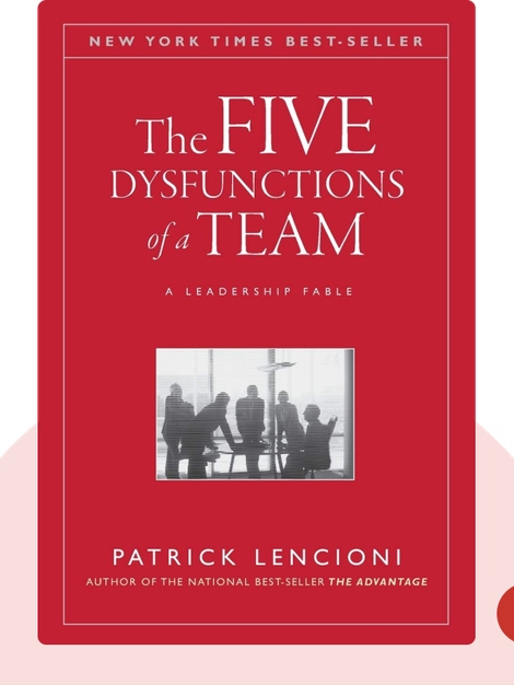 The Five Dysfunctions of a Team: A Leadership Fable by Patrick M. Lencioni