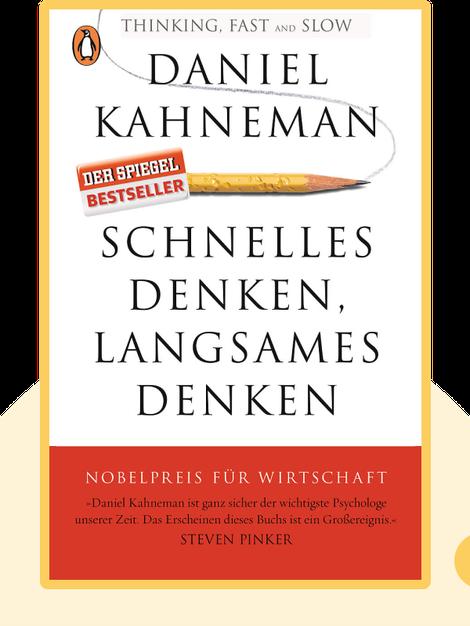 Schnelles Denken, langsames Denken by Daniel Kahneman