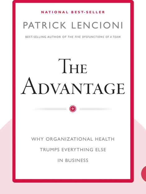 The Advantage: Why Organizational Health Trumps Everything Else in Business von Patrick M. Lencioni