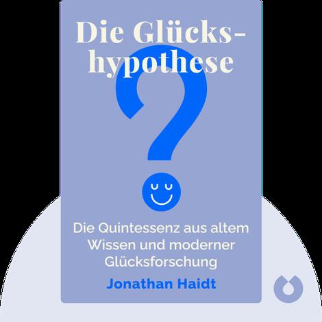 Die Glückshypothese by Jonathan Haidt