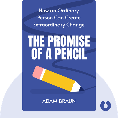 The Promise of a Pencil von Adam Braun