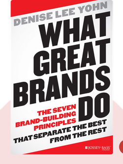 What Great Brands Do: The Seven Brand-Building Principles That Separate the Best from the Rest von Denise Lee Yohn