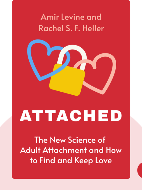 Attached: The New Science of Adult Attachment and How It Can Help You Find – and Keep – Love by Amir Levine and Rachel S. F. Heller