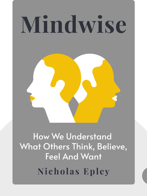 Mindwise: How We Understand What Others Think, Believe, Feel and Want by Nicholas Epley