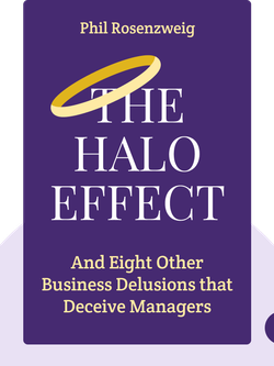 The Halo Effect: And Eight Other Business Delusions that Deceive Managers by Phil Rosenzweig