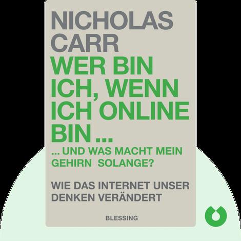 Wer bin ich, wenn ich online bin … von Nicholas Carr