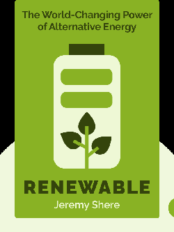 Renewable: The World-Changing Power of Alternative Energy by Jeremy Shere
