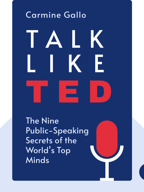 Talk Like TED: The Nine Public-Speaking Secrets of the World's Top Minds by Carmine Gallo