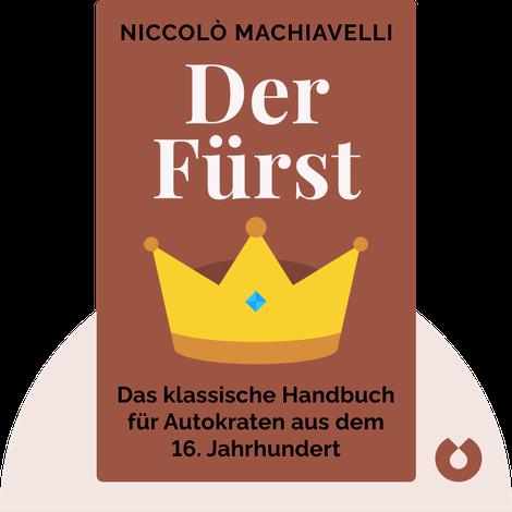 Der Fürst by Niccolò Machiavelli
