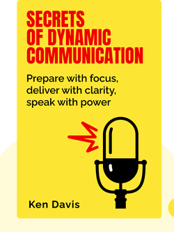 Secrets of Dynamic Communication: Prepare with focus, deliver with clarity, speak with power von Ken Davis