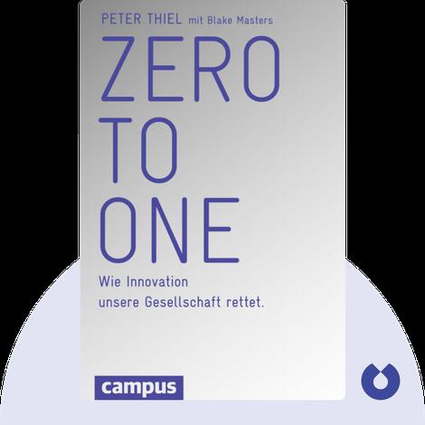 Zero to One by Peter Thiel mit Blake Masters