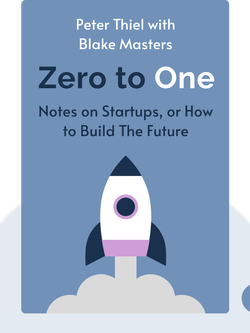 Zero to One: Notes on Startups, or How to Build The Future by Peter Thiel with Blake Masters