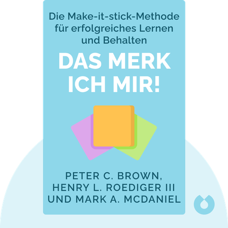 Make it Stick by Peter C. Brown, Henry L. Roediger III und Mark A. McDaniel