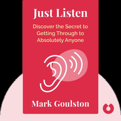 Just Listen von Mark Goulston