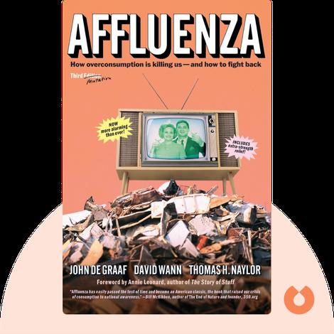 Affluenza by John de Graaf, David Wann and Thomas H. Naylor