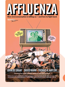 Affluenza: How Overconsumption is Killing Us – and How to Fight Back von John de Graaf, David Wann and Thomas H. Naylor