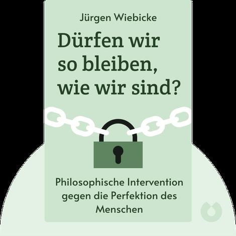 Dürfen wir so bleiben, wie wir sind? by Jürgen Wiebicke