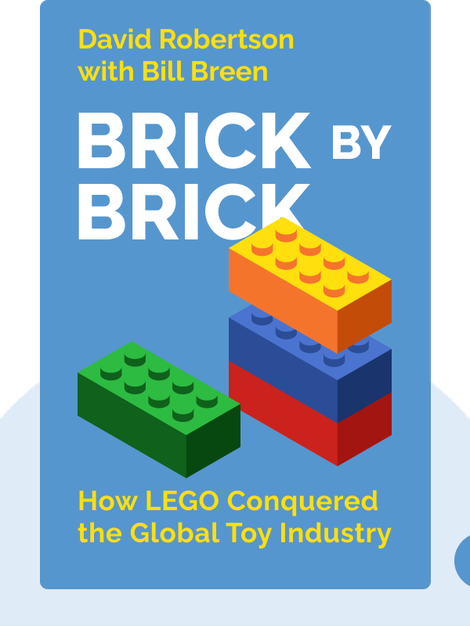 Brick by Brick: How LEGO Rewrote the Rules of Innovation and Conquered the Global Toy Industry von David Robertson with Bill Breen