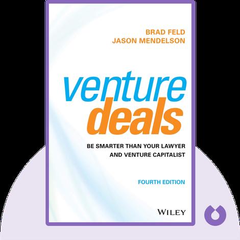 Venture Deals von Brad Feld and Jason Mendelson