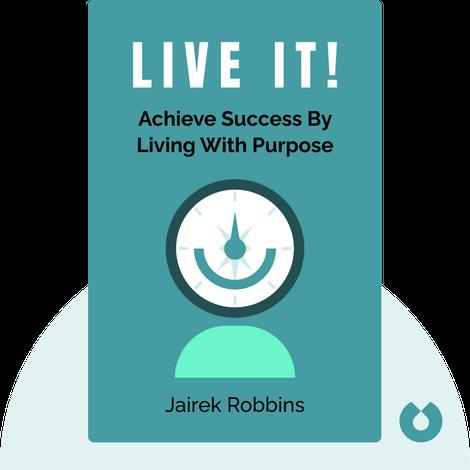 Live It! von Jairek Robbins