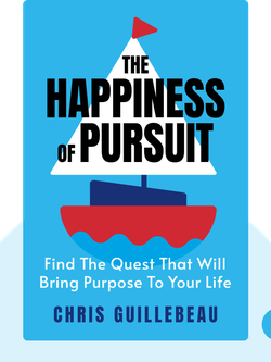 The Happiness of Pursuit: Find the Quest that Will Bring Purpose to Your Life by Chris Guillebeau