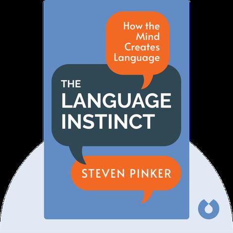 The Language Instinct von Steven Pinker