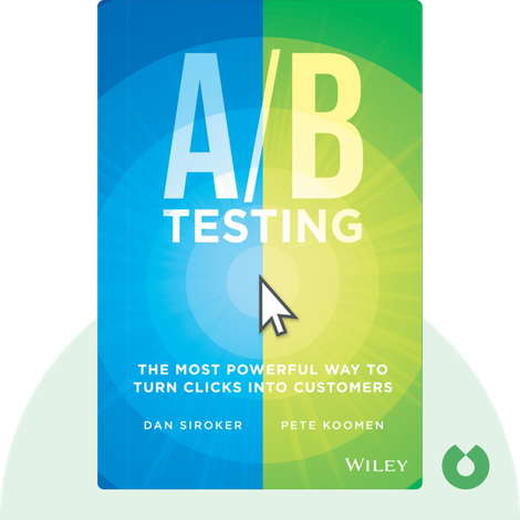 A/B Testing by Dan Siroker and Pete Koomen