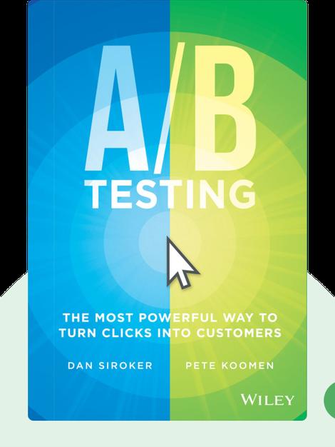 A/B Testing by Dan Siroker and Pete Koomen