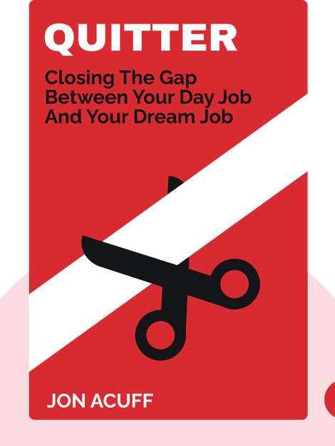 Quitter: Closing the Gap Between Your Day Job and Your Dream Job by Jon Acuff