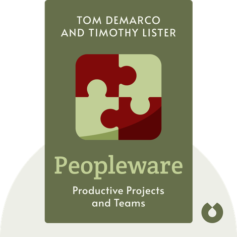 Peopleware von Tom DeMarco and Timothy Lister