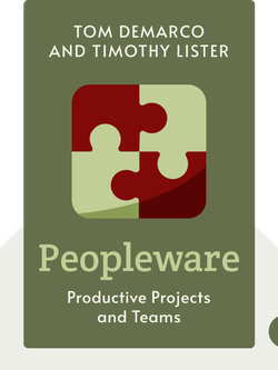 Peopleware: Productive Projects and Teams von Tom DeMarco and Timothy Lister
