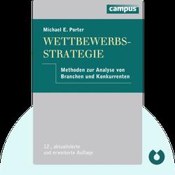 Wettbewerbsstrategie: Methoden zur Analyse von Branchen und Konkurrenten by Michael E. Porter