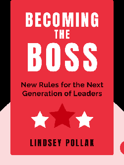 Becoming the Boss: New Rules for the Next Generation of Leaders von Lindsey Pollak