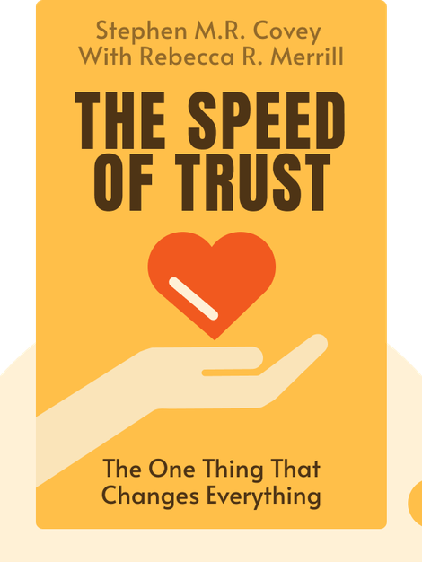 The Speed of Trust: The One Thing That Changes Everything by Stephen M.R. Covey with Rebecca R. Merrill
