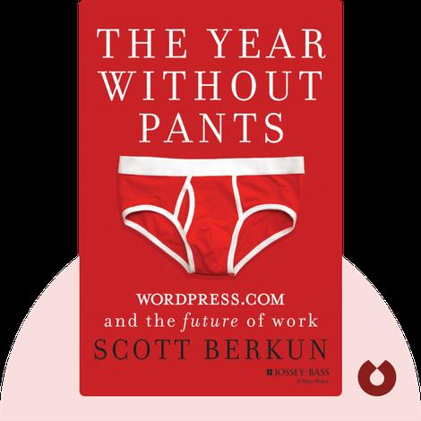 The Year Without Pants von Scott Berkun