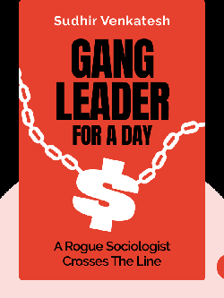 Gang Leader For A Day: A Rogue Sociologist Crosses The Line by Sudhir Venkatesh