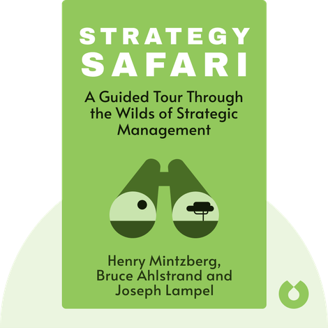 Strategy Safari by Henry Mintzberg, Bruce Ahlstrand and Joseph Lampel
