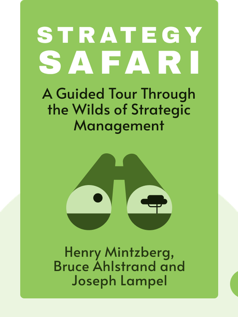 Strategy Safari: A Guided Tour Through the Wilds of Strategic Management by Henry Mintzberg, Bruce Ahlstrand and Joseph Lampel