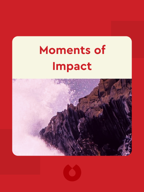 Moments of Impact: How to Design Strategic Conversations That Accelerate Change von Chris Ertel and Lisa Kay Solomon
